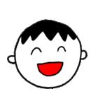 笑っている男の子(個別スタンプ:02)
