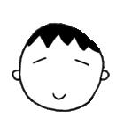 笑っている男の子(個別スタンプ:04)