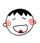 笑っている男の子(個別スタンプ:14)