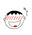 笑っている男の子(個別スタンプ:15)