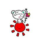 きゅ…きゅんくま♡(個別スタンプ:01)
