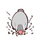 シルバー文鳥のすたんぷす(個別スタンプ:02)