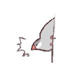 シルバー文鳥のすたんぷす(個別スタンプ:06)