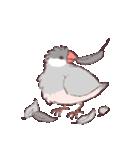 シルバー文鳥のすたんぷす(個別スタンプ:07)