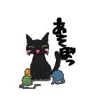黒猫で会話(個別スタンプ:31)