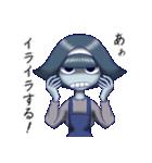 鬱ってますよ霊子ちゃん(個別スタンプ:02)