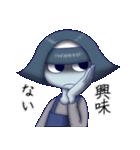 鬱ってますよ霊子ちゃん(個別スタンプ:09)