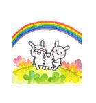子育てウサギパパ編2(個別スタンプ:40)