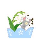 お花でほのぼのスタンプ[敬語&日常](個別スタンプ:07)