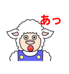 ひつじの関西弁(個別スタンプ:30)