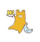 ヨレぐま Re(個別スタンプ:01)