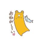 ヨレぐま Re(個別スタンプ:29)
