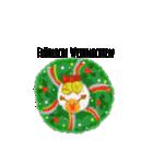 クリスマス&ウィンター ドイツ語編(個別スタンプ:1)