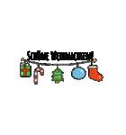クリスマス&ウィンター ドイツ語編(個別スタンプ:3)