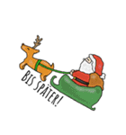 クリスマス&ウィンター ドイツ語編(個別スタンプ:14)