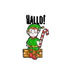 クリスマス&ウィンター ドイツ語編(個別スタンプ:16)