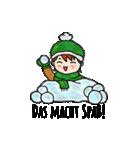 クリスマス&ウィンター ドイツ語編(個別スタンプ:36)