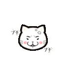ほんわか白猫の日常(個別スタンプ:06)