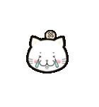 ほんわか白猫の日常(個別スタンプ:25)