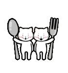 ほんわか白猫の日常(個別スタンプ:36)
