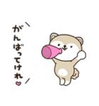 秋田犬むすめっこ「秋田弁で話しこすべ!」(個別スタンプ:09)