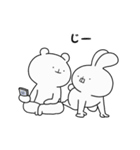 ゆる×ラブ♡うさっくま+3(個別スタンプ:05)