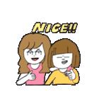 関西弁二人暮らしスタンプ〜ロブ子&カニ美(個別スタンプ:03)