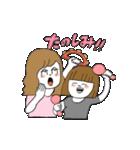関西弁二人暮らしスタンプ〜ロブ子&カニ美(個別スタンプ:04)