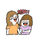 関西弁二人暮らしスタンプ〜ロブ子&カニ美(個別スタンプ:08)