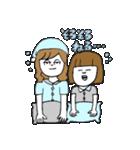 関西弁二人暮らしスタンプ〜ロブ子&カニ美(個別スタンプ:09)