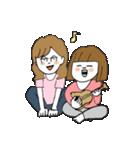 関西弁二人暮らしスタンプ〜ロブ子&カニ美(個別スタンプ:20)