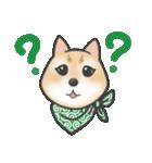 柴犬の顔だけイラストスタンプ(個別スタンプ:15)