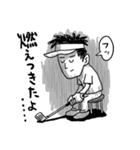 ゴルフバカ 3(個別スタンプ:02)