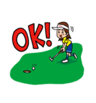 ゴルフバカ 3(個別スタンプ:08)