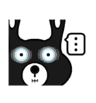 BLACK BUNNY 001 4(個別スタンプ:09)