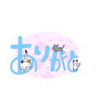 猫の文字スタンプ(個別スタンプ:17)