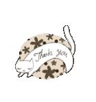 猫の文字スタンプ(個別スタンプ:18)