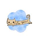 猫の文字スタンプ(個別スタンプ:22)