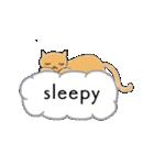 猫の文字スタンプ(個別スタンプ:27)