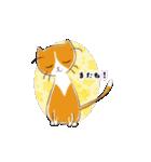 猫の文字スタンプ(個別スタンプ:35)