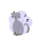 猫の文字スタンプ(個別スタンプ:39)