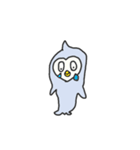 かわいすぎるペンギン(個別スタンプ:21)