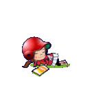 鯉ちゃん/茶髪ロン毛赤ヘル【やや広島弁】(個別スタンプ:12)
