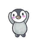 手描きのかわいいペンギンスタンプ(個別スタンプ:01)