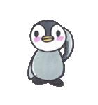 手描きのかわいいペンギンスタンプ(個別スタンプ:02)