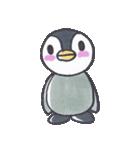 手描きのかわいいペンギンスタンプ(個別スタンプ:04)