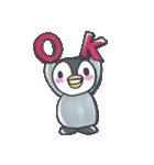 手描きのかわいいペンギンスタンプ(個別スタンプ:06)
