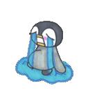 手描きのかわいいペンギンスタンプ(個別スタンプ:10)