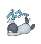 手描きのかわいいペンギンスタンプ(個別スタンプ:17)
