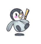 手描きのかわいいペンギンスタンプ(個別スタンプ:27)